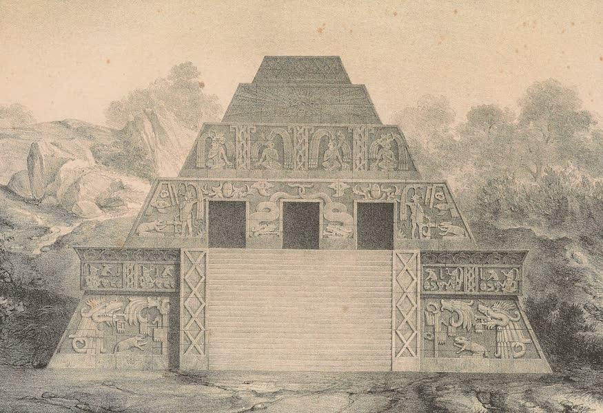 Restauracion de la Piramide de Xochicalco