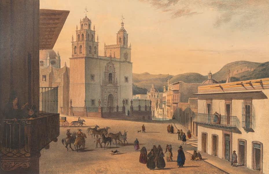 Viaje Pintoresco y Arqueolojico de la Republica Mejicana - Plaza Mayor de Guanajuato (1840)