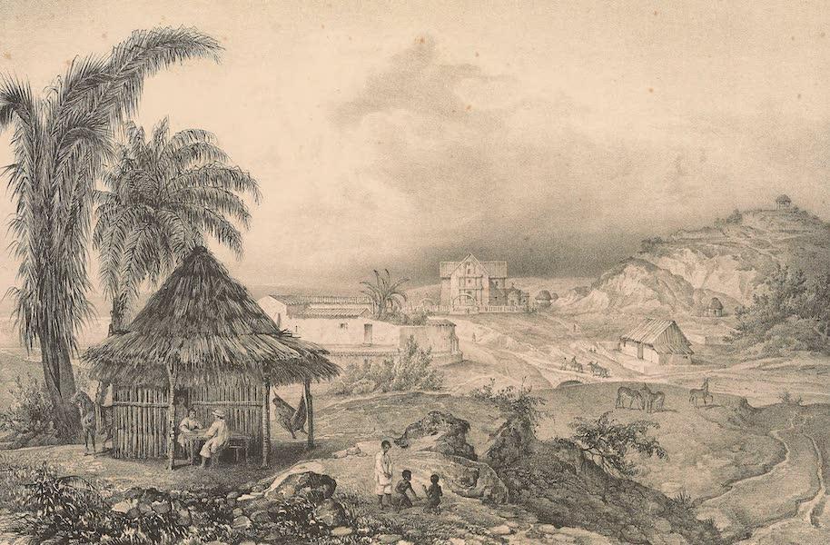 Viaje Pintoresco y Arqueolojico de la Republica Mejicana - Papantla - Pueblo de Indios Totonacos (1840)