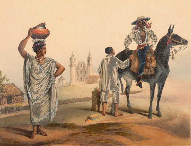 Viaje Pintoresco y Arqueolojico de la Republica Mejicana - Gente de Tierra Caliente entre Papantla y Misantla (1840)
