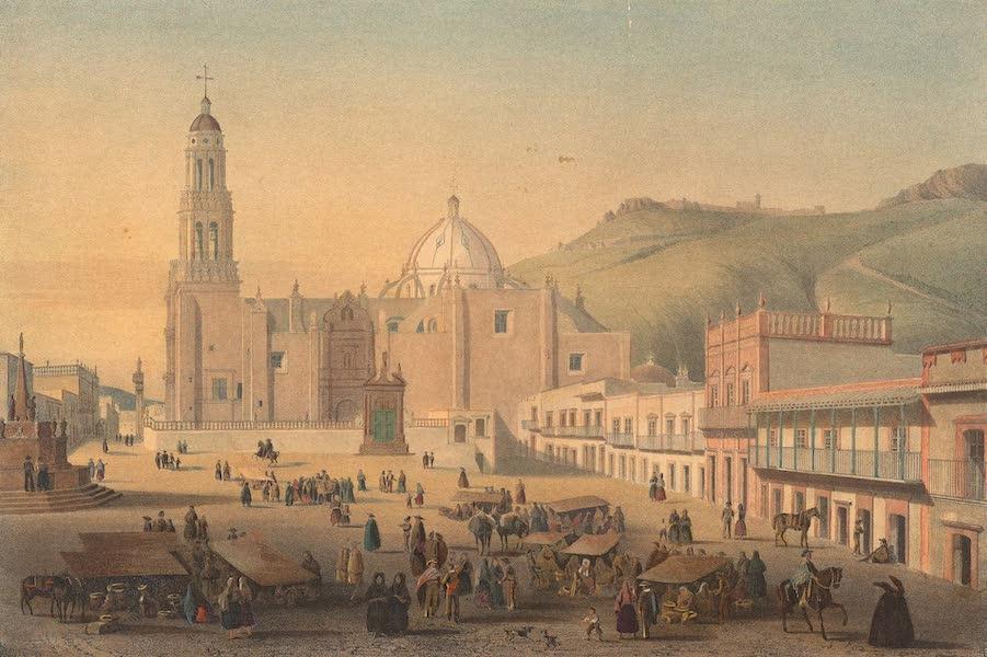 Viaje Pintoresco y Arqueolojico de la Republica Mejicana - Interior de Zacatecas (1840)