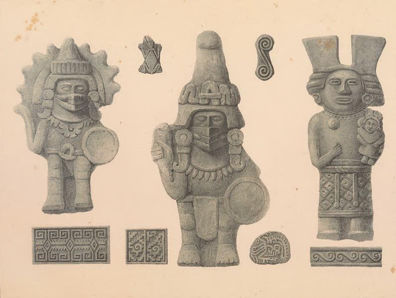 Viaje Pintoresco y Arqueolojico de la Republica Mejicana - Idolos y Ornamentos de Barro (1840)