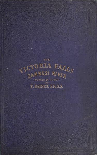 Victoria Falls, Zambesi River - Front Cover (1865)