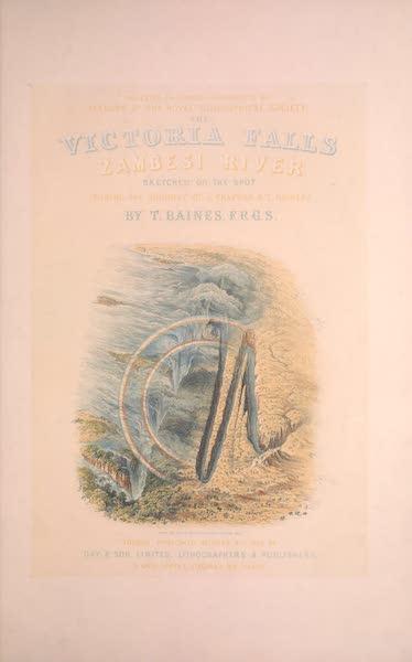 Victoria Falls, Zambesi River - Title Page  (1865)