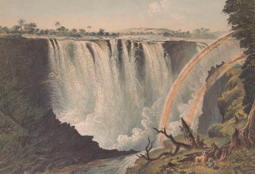 Victoria Falls, Zambesi River - Great Western or Main Fall (1865)