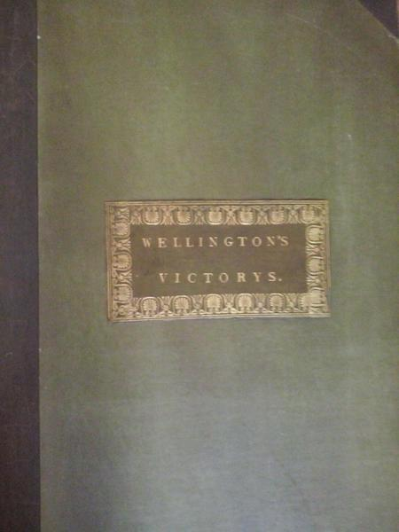 Victories of the Duke of Wellington - Front Cover (1819)