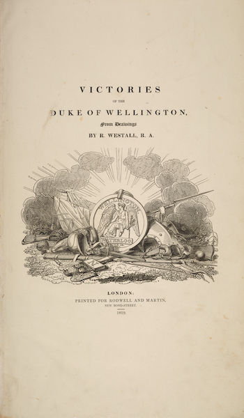 Victories of the Duke of Wellington - Title Page (1819)
