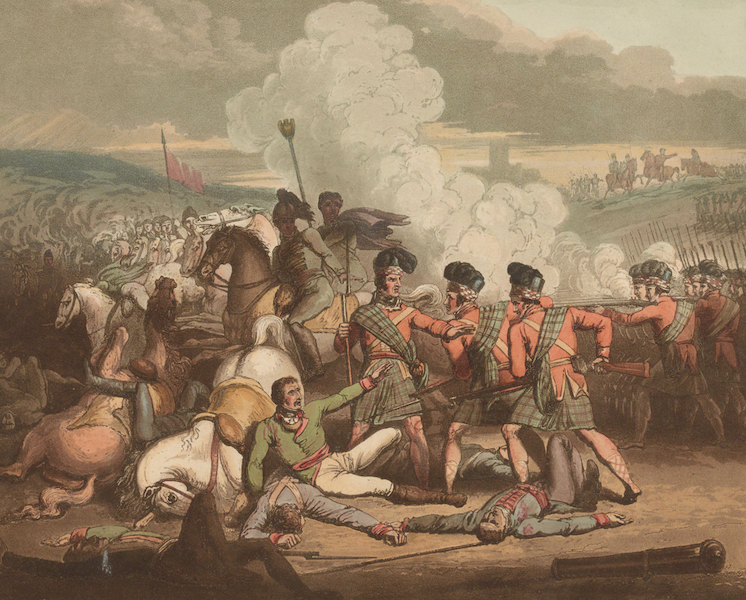 Victories of the Duke of Wellington - Battle of Vimiera in 1808. (1819)