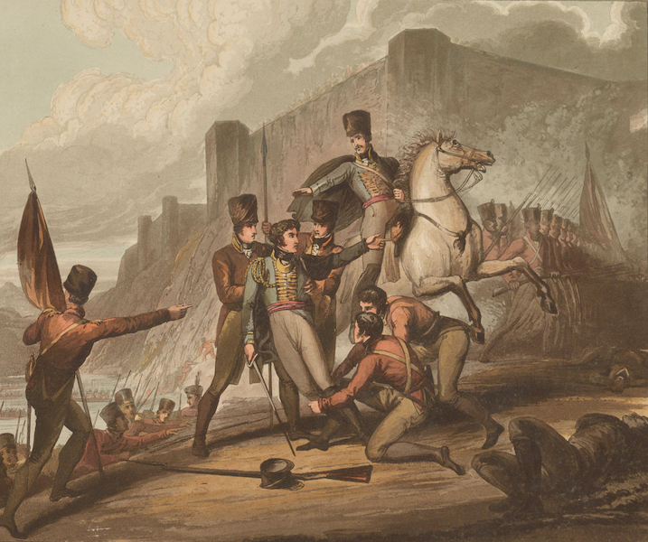 Victories of the Duke of Wellington - Capture of Oporto in 1809. (1819)