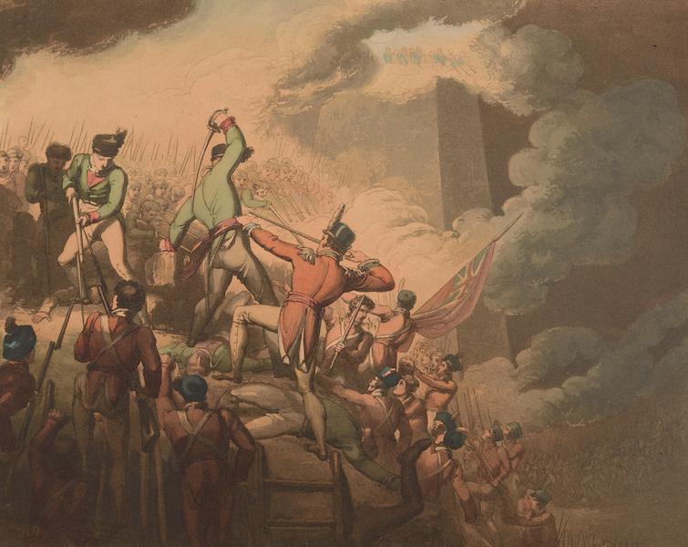 Victories of the Duke of Wellington - Siege of Badajoz in 1812. (1819)
