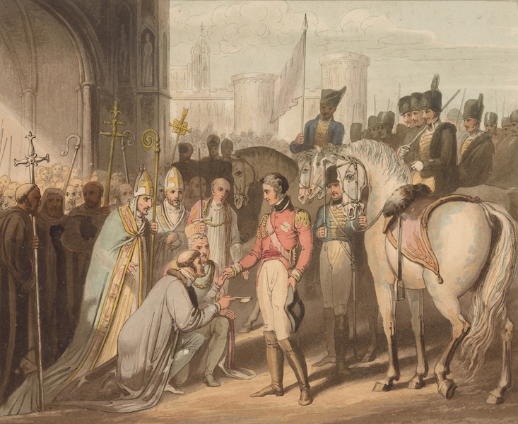 Victories of the Duke of Wellington - Capture of Madrid in 1812. (1819)