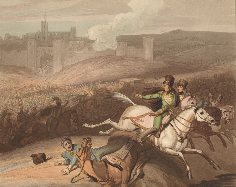 Victories of the Duke of Wellington - Battle of Vittoria in 1813. (1819)