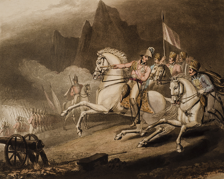 Victories of the Duke of Wellington - Battle of the Pyrannees in 1813. (1819)