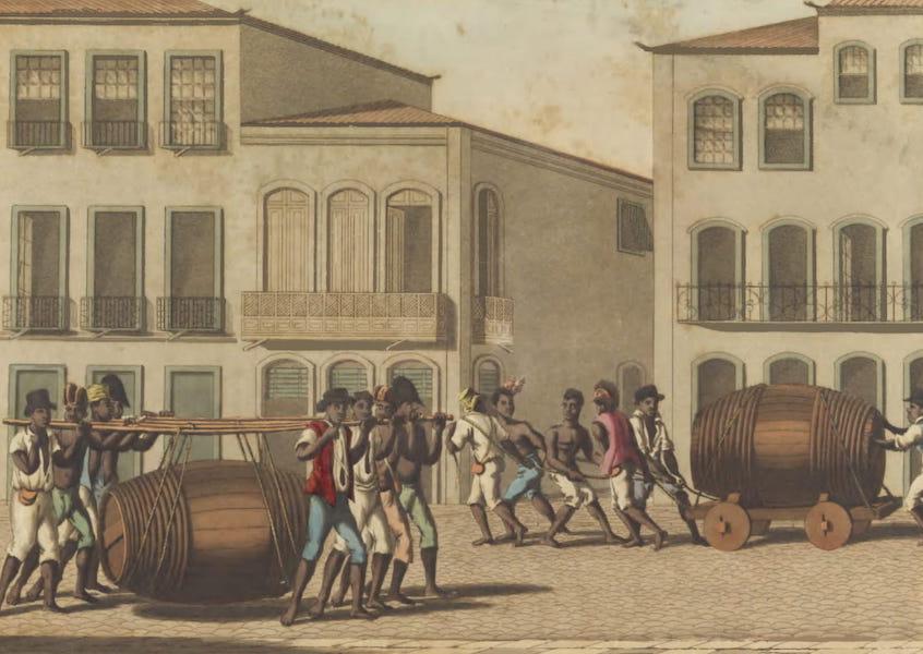 Views and Costumes of the City and Neighbourhood of Rio de Janeiro - Pretos de Ganho (1822)
