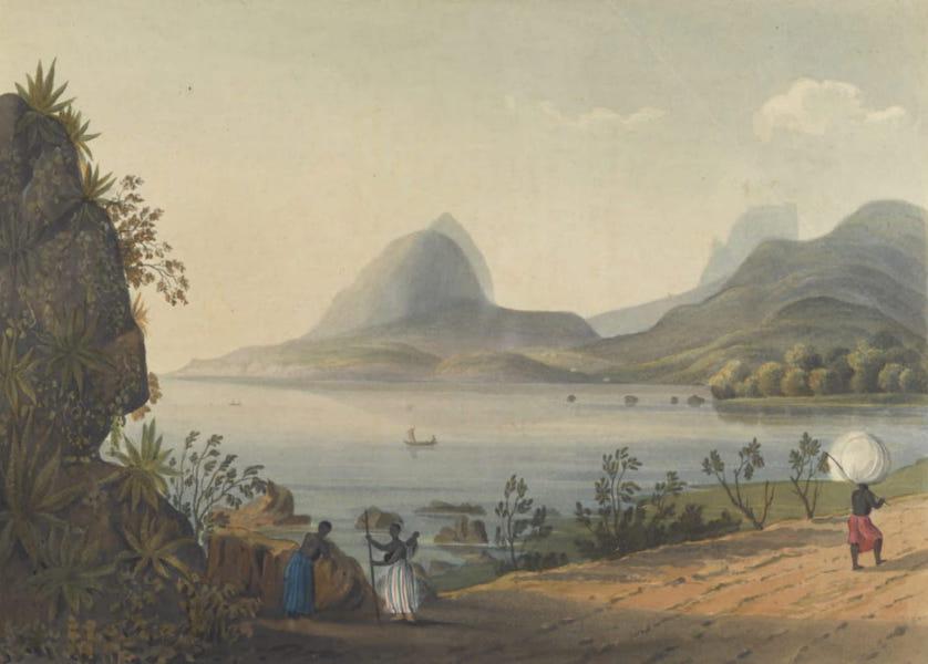 Views and Costumes of the City and Neighbourhood of Rio de Janeiro - Lagoa de Freitas (1822)