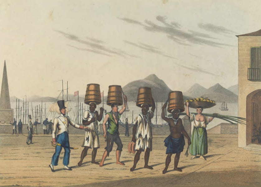 Views and Costumes of the City and Neighbourhood of Rio de Janeiro - Convicts (1822)