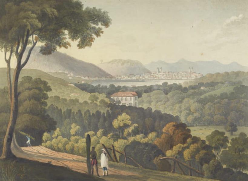 Views and Costumes of the City and Neighbourhood of Rio de Janeiro - S.W. View of the City of Rio de Janeiro (1822)