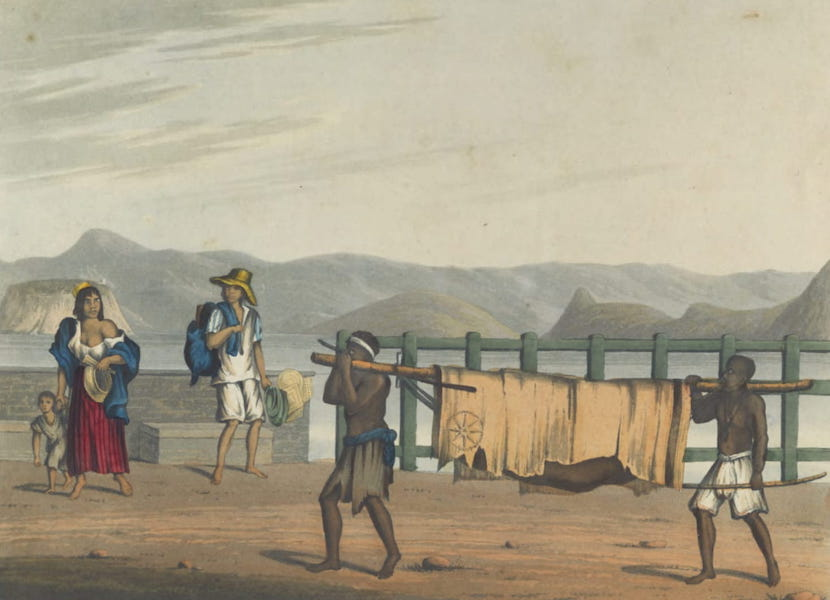 Views and Costumes of the City and Neighbourhood of Rio de Janeiro - Funeral of a Negro (1822)