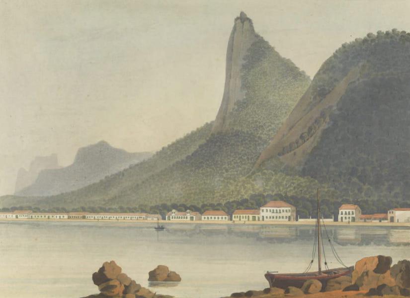 Views and Costumes of the City and Neighbourhood of Rio de Janeiro - Botafogo Bay Plate 1 (1822)