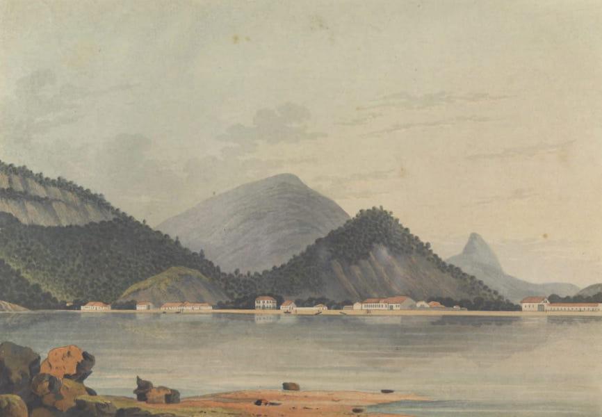 Views and Costumes of the City and Neighbourhood of Rio de Janeiro - Botafogo Bay Plate 2 (1822)