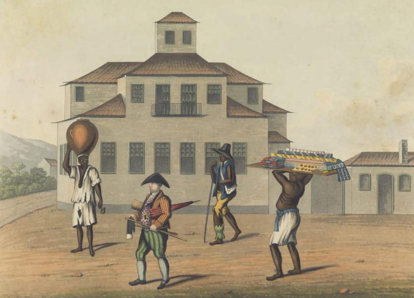 Views and Costumes of the City and Neighbourhood of Rio de Janeiro - A Pedlar and his Slave (1822)