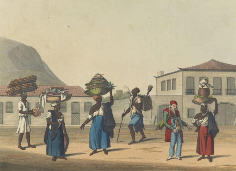 Views and Costumes of the City and Neighbourhood of Rio de Janeiro - Largo da Gloria (1822)