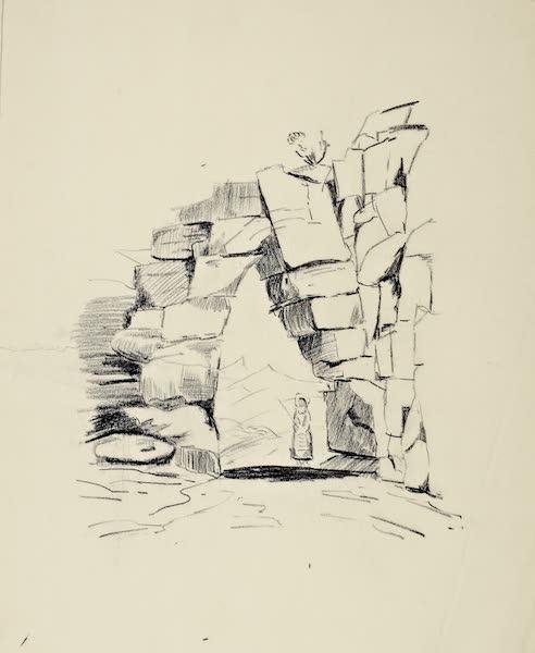 Views and descriptions of Cyclopian, or, Pelasgic remains - Gate at Arpino (1834)