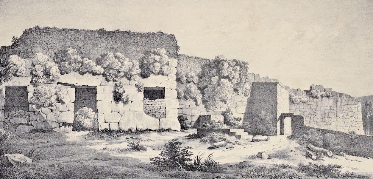 Views and descriptions of Cyclopian, or, Pelasgic remains - Walls at Alatrium (1834)