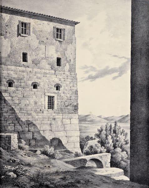 Views and descriptions of Cyclopian, or, Pelasgic remains - Walls at Ferentinum (1834)