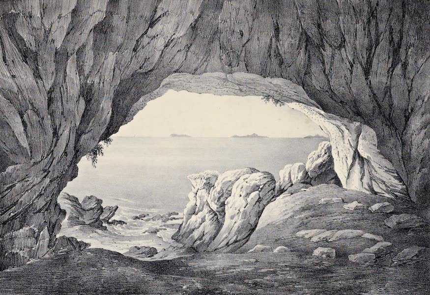 Views and descriptions of Cyclopian, or, Pelasgic remains - A Cavern at Mount Circaei (1834)