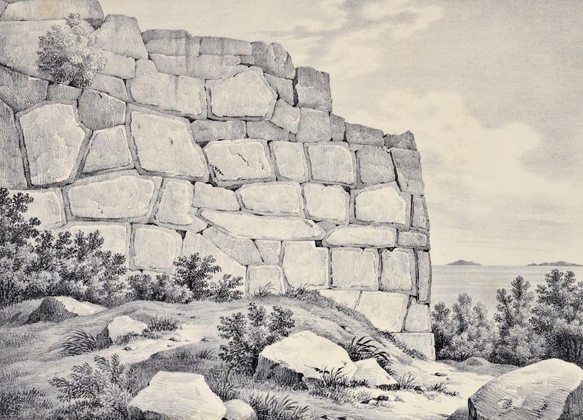 Views and descriptions of Cyclopian, or, Pelasgic remains - Walls of Circaei (1834)