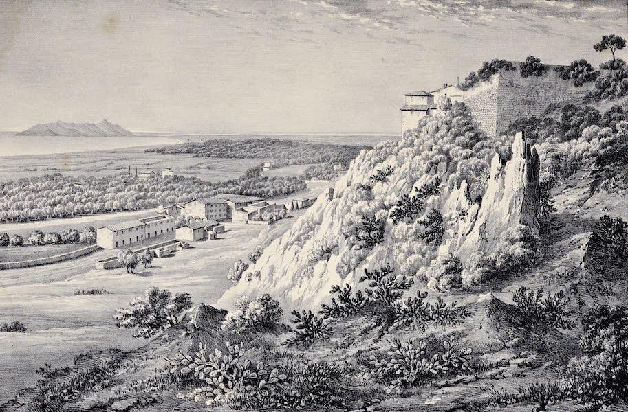Views and descriptions of Cyclopian, or, Pelasgic remains - Walls of Terracina [I] (1834)