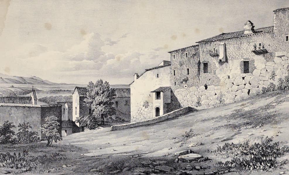 Views and descriptions of Cyclopian, or, Pelasgic remains - Ruins at Proeneste (1834)