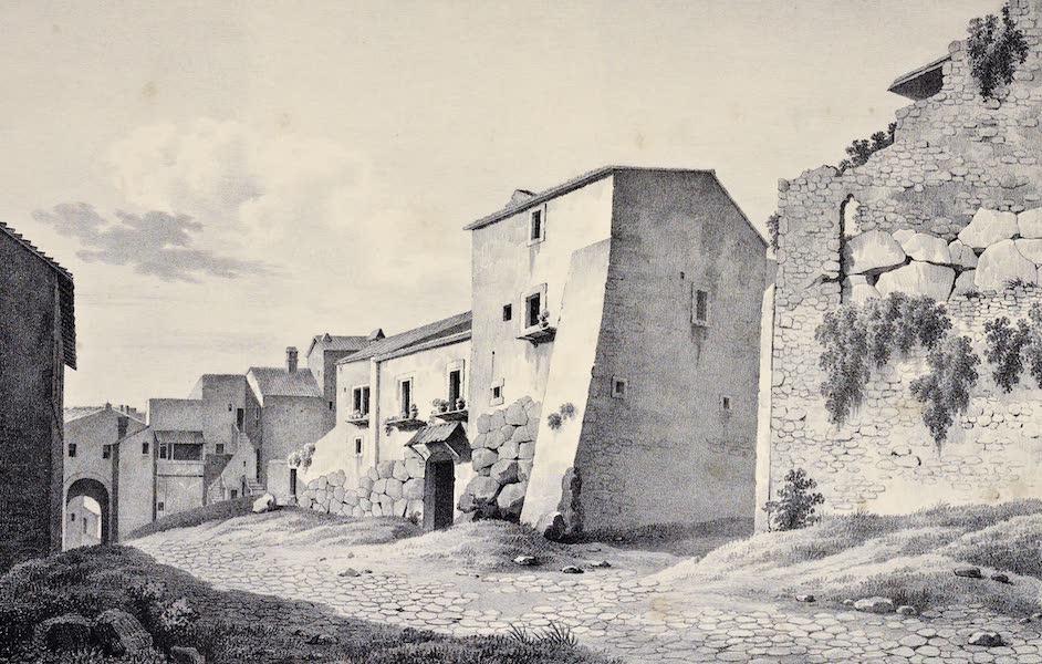 Views and descriptions of Cyclopian, or, Pelasgic remains - Walls at Praeneste [I] (1834)