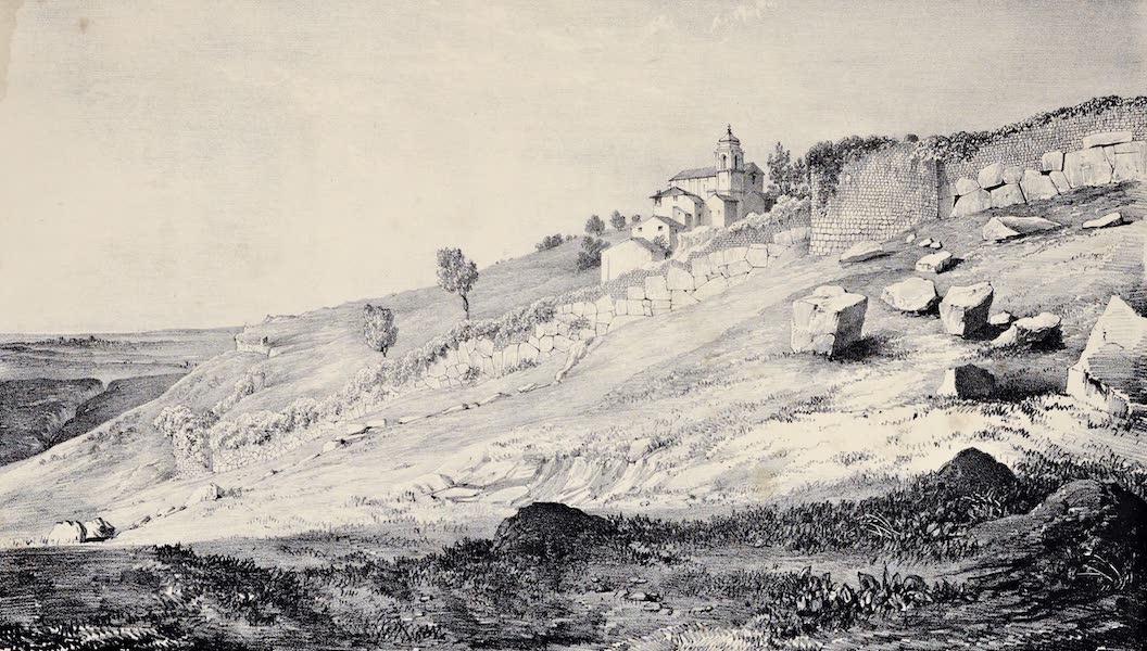 Views and descriptions of Cyclopian, or, Pelasgic remains - Walls at Praeneste [II] (1834)