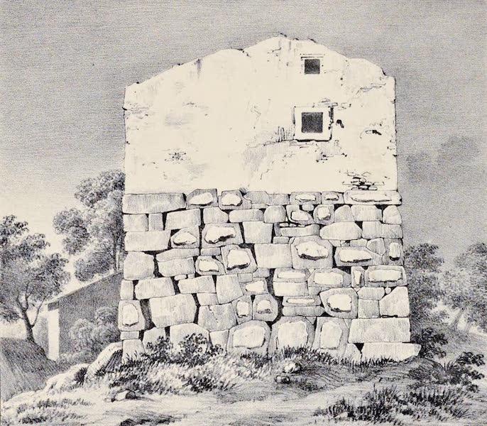 Views and descriptions of Cyclopian, or, Pelasgic remains - Walls at Setium [I] (1834)