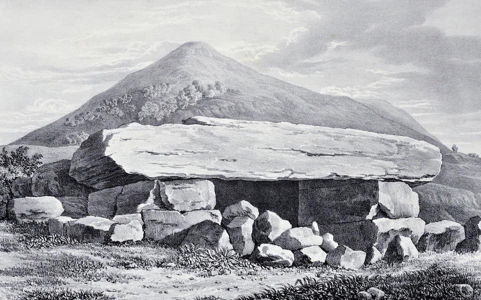 Views and descriptions of Cyclopian, or, Pelasgic remains - Portal to One of the Treasuries at Mycenae (1834)