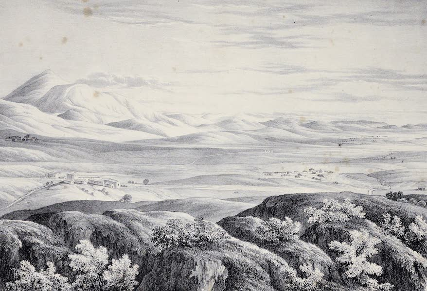 Views and descriptions of Cyclopian, or, Pelasgic remains - Plain of Argos [I] (1834)