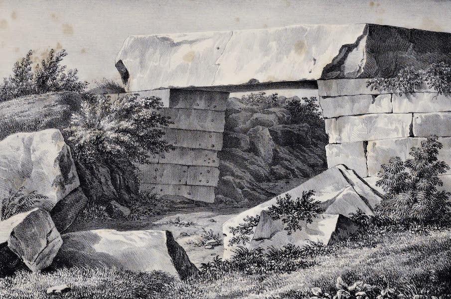 Views and descriptions of Cyclopian, or, Pelasgic remains - Treasury of Mynias at Orchomenos in Boetia (1834)