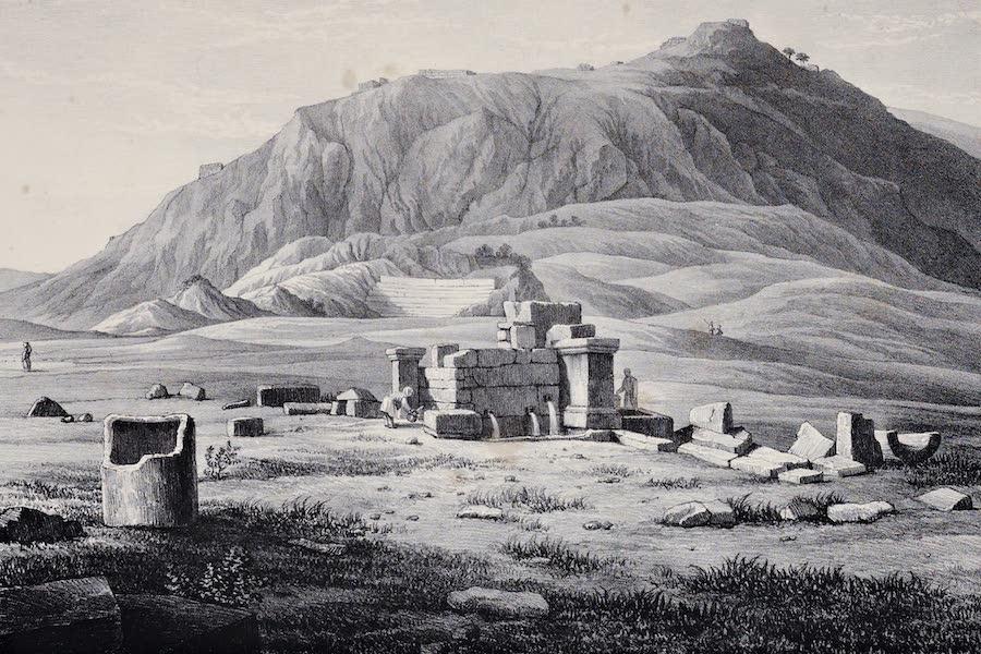 Views and descriptions of Cyclopian, or, Pelasgic remains - Acropolis of Chaeroneia (1834)