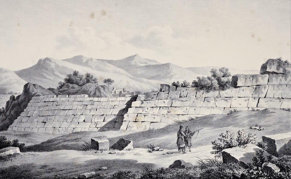 Views and descriptions of Cyclopian, or, Pelasgic remains - Projecting Wall at Chaeroneia (1834)