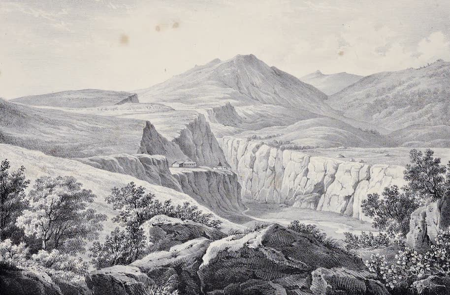Views and descriptions of Cyclopian, or, Pelasgic remains - Ruins of Gortys (1834)