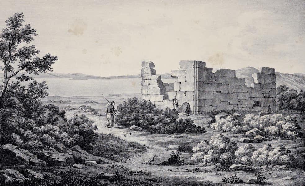Views and descriptions of Cyclopian, or, Pelasgic remains - A Tower at Thorikos (1834)