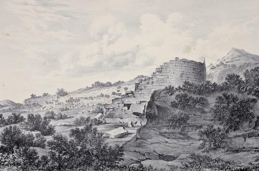 Views and descriptions of Cyclopian, or, Pelasgic remains - Theatre at Thoricos (1834)