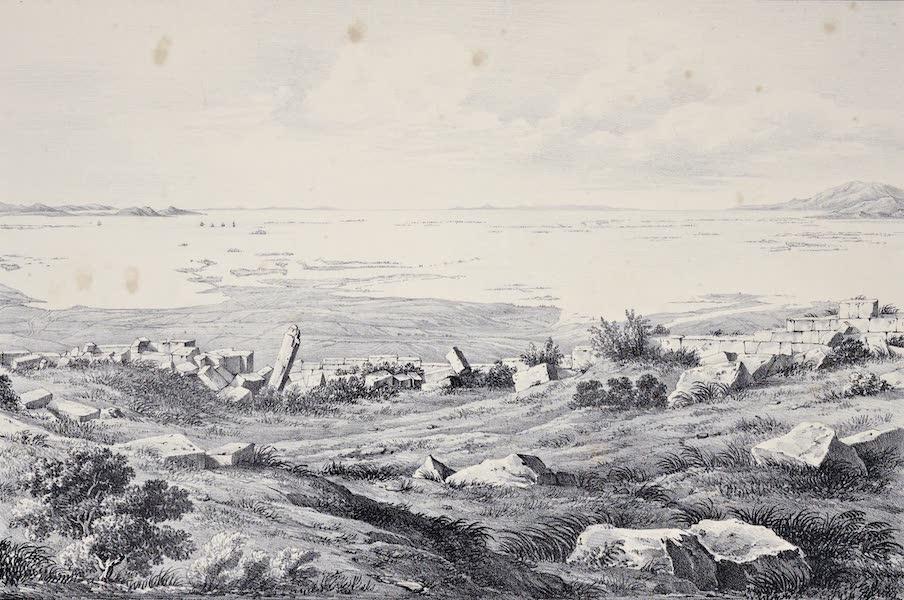 Views and descriptions of Cyclopian, or, Pelasgic remains - Ruins of an Ancient City near Mesaloggion in Aetolia [II] (1834)
