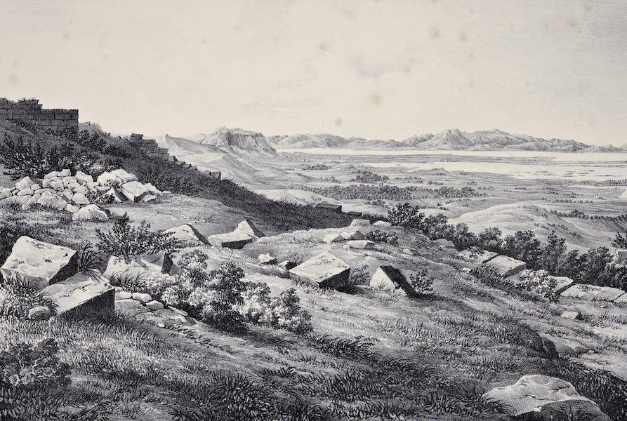 Views and descriptions of Cyclopian, or, Pelasgic remains - Ruins of an Ancient City near Mesaloggion in Aetolia [III] (1834)
