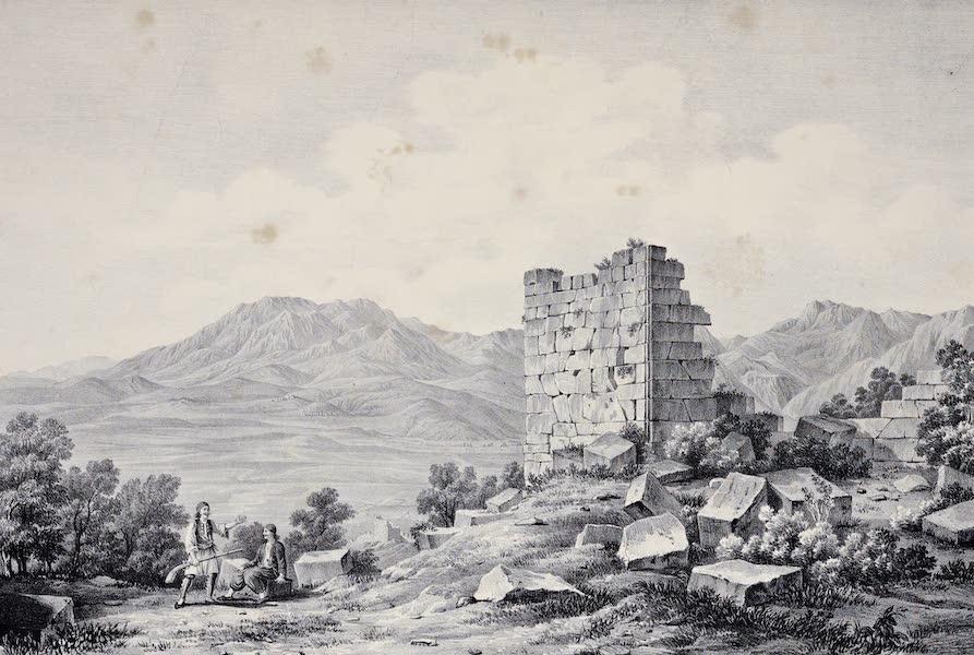 Views and descriptions of Cyclopian, or, Pelasgic remains - Ruins of an Ancient City in Doris (1834)