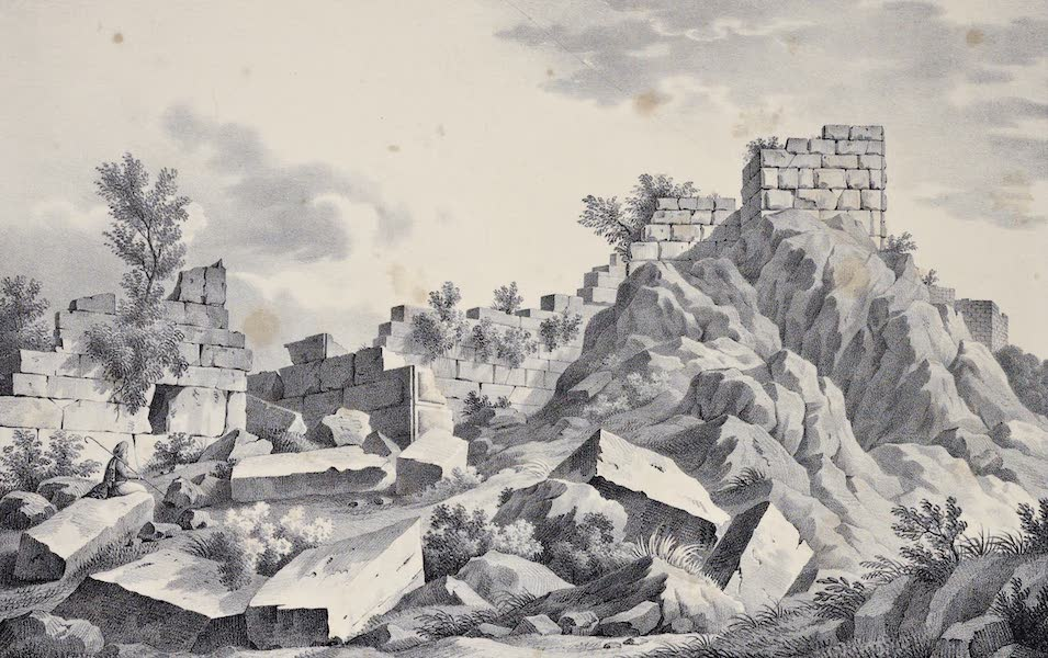 Views and descriptions of Cyclopian, or, Pelasgic remains - Ruins of Panopoeius (1834)