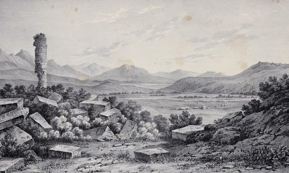 Views and descriptions of Cyclopian, or, Pelasgic remains - Ruins of Haliartus in Boeotia (1834)