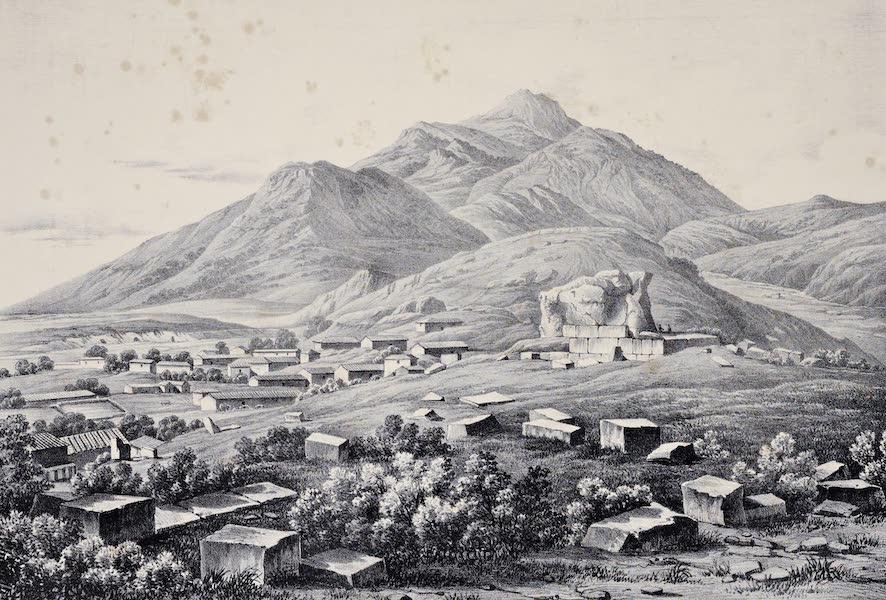 Views and descriptions of Cyclopian, or, Pelasgic remains - Ruins of Thisbe Boeotia (1834)